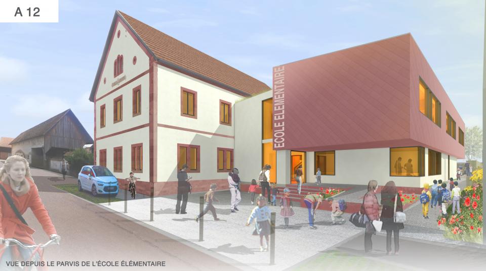 Ecole d'Ebersheim (67)