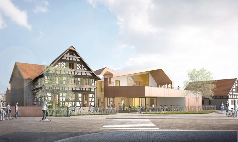 Centre périscolaire et associatif de Fegersheim (67)
