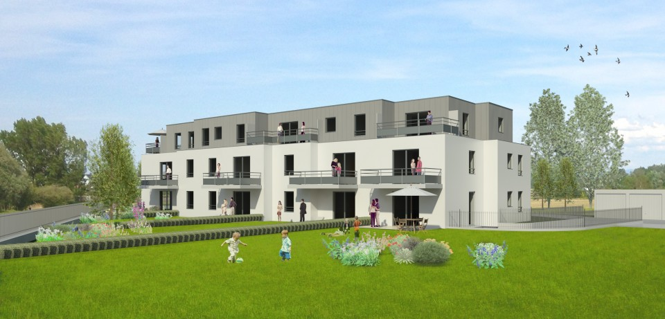 Logements collectifs à Lingolsheim (67)