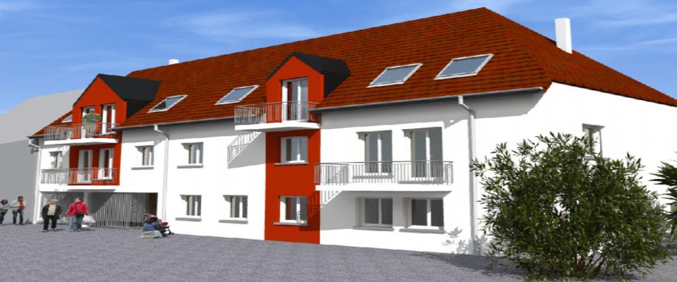 Logements collectifs à Duttlenheim (67)