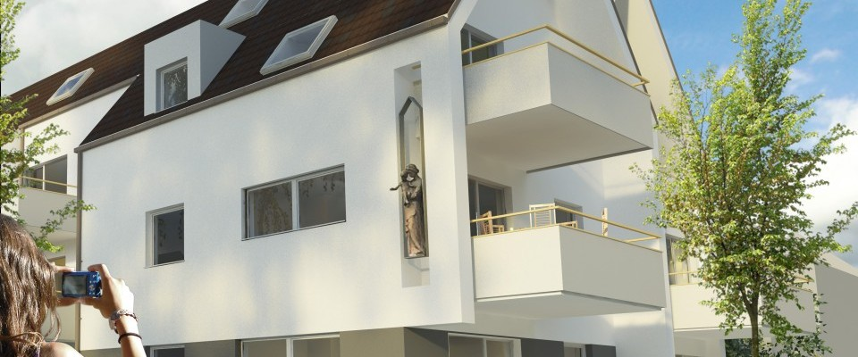 Logements collectifs à Geispolsheim (67)